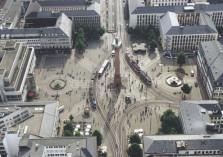 Turm Platz Häuser