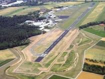 Landebahn Felder