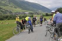 Fahrräder Menschen Radfahrer Weg