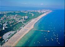 Strand, Steg, Lignano